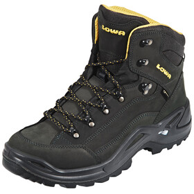 Lowa Renegade GTX Mid Shoes Men anthracite/mustard